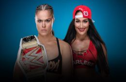 Ronda vs Nikki WWE Evolution