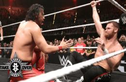 Sami Zayn vs. Nakamura NXT Takeover Dallas