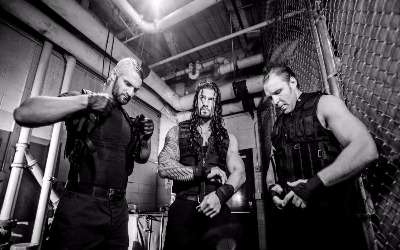 Seth Rollins The Shield