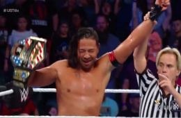 Shinsuke Nakamura retiene el United States Championship ante Rusev