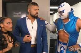 Sin Cara vs Andrade Cien Almas WWE