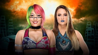 TLC Asuka vs Emma WWE