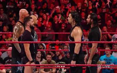 The Balor Club en RAW 8 Enero
