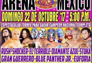 Regresa y se reactiva el Campeonato Nacional Completo en el CMLL