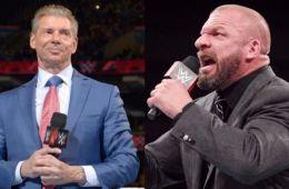 Triple H y The Rock