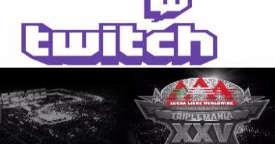 Twitch trasnmitirá en vivo y gratis Triplemania XXV