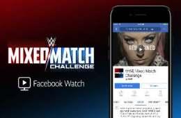 WWE Mixed Match Facebook watch