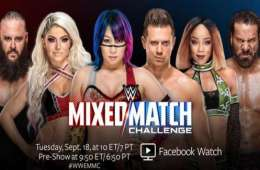 WWE habría apostado mucho para el Mixed Match Challenge