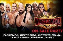 Wrestlemania 35 pre venta