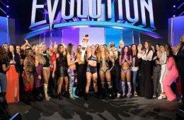 protagonistas de WWE Evolution