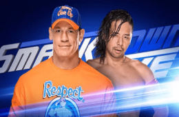 WWE SmackDown Live John Cena vs. SHinsuke Nakamura