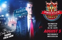 Show de WrestleCircus con Cody Rhodes