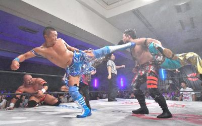 Resultados de los shows de Dragon Gate