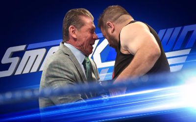 WWE Smackdown Kevin Owens Vince McMahon