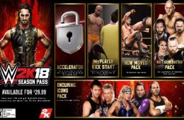 DLC de WWE 2K18