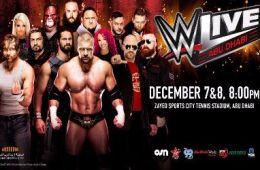 WWE RAW Abu Dhabi Triple H