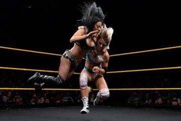 Resultados de NXT del 19 de abril