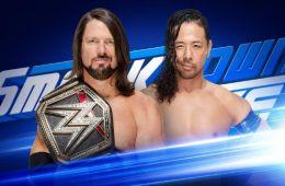 WWE Smackdown Shinsuke Nakamura