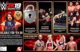 Se confirma el contenido descargable del WWE 2K19