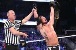 AJ Styles retiene el WWE Championship en Smackdown Live