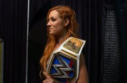 Altercado de Becky Lynch con un periodista