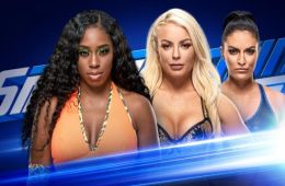 Naomi vs Mandy Rose Smackdown