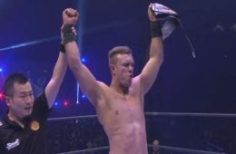 Will Ospreay nuevo NEVER Openweight Champion