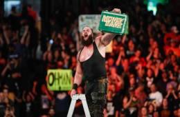 vídeo de Strowman advirtiendo a Lesnar