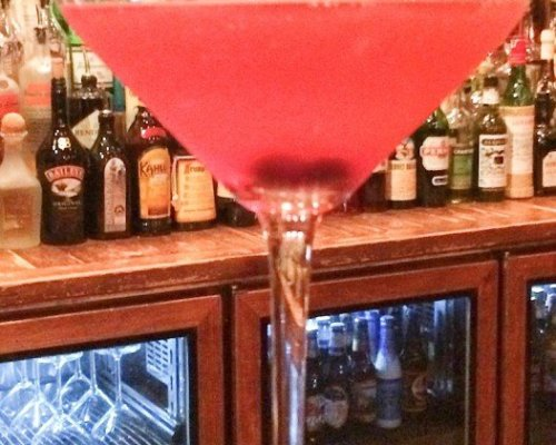 Huckleberry Martini
