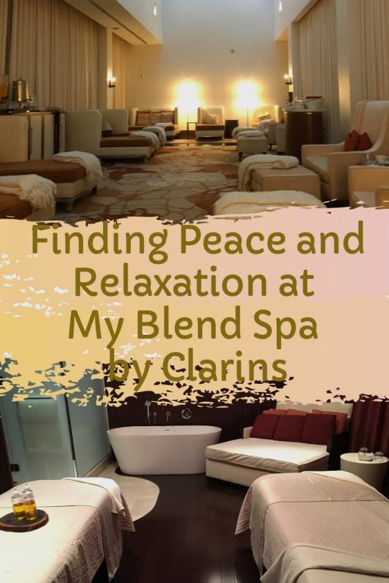 Ritz Carlton My Blend Spa Pinterest