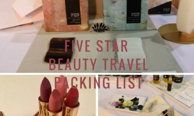 The Ultimate Travel Beauty Packing List