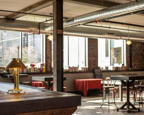 Buffalo Duende bar and event space in Silo City