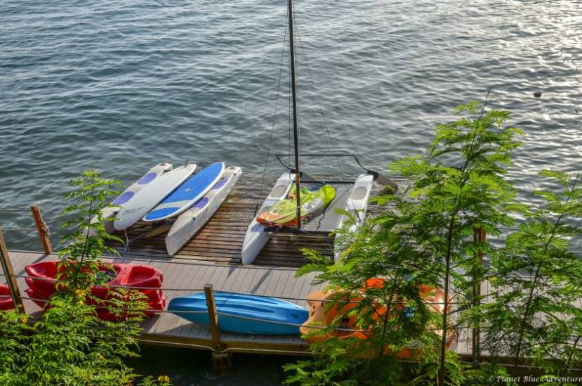 True Blue Bay - Hobie Cats and Paddleboards are available for guest use