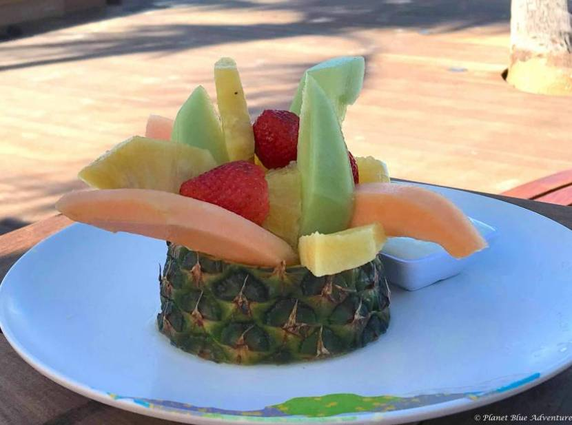 Turks and Caicos Fruit Breakfast