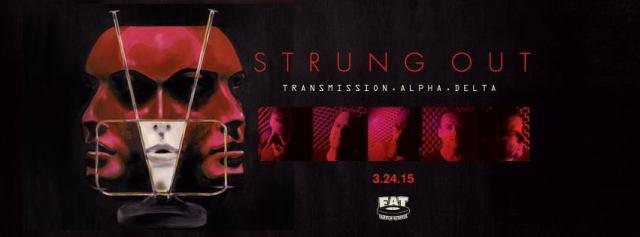 Strung Out nuevo disco Transmission alpha delta.