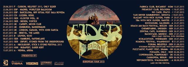 Elter Mos Generator 2015 Tour