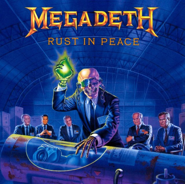 MEGADETH REST IN PEACE
