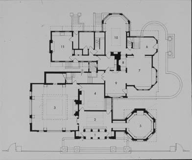 Frank Lloyd Wright : The Wright House and Studio (Oak Park