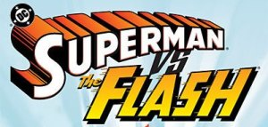 Superman_vs_Flash_logo