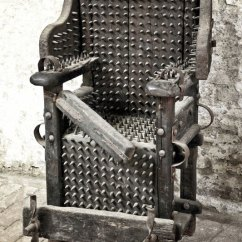 The Chair With Shade Cover 10 Worst Medieval Torture Devices Planet Deadly Of