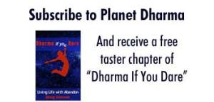 Free Dharma Book Chapter: Dharma If you dare