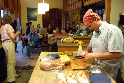 Dharma Training in the Kitchen