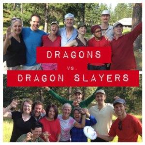 AGM Frisbee Teams at Clear Sky Meditation Centre