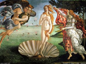 Astrology the birth of venus