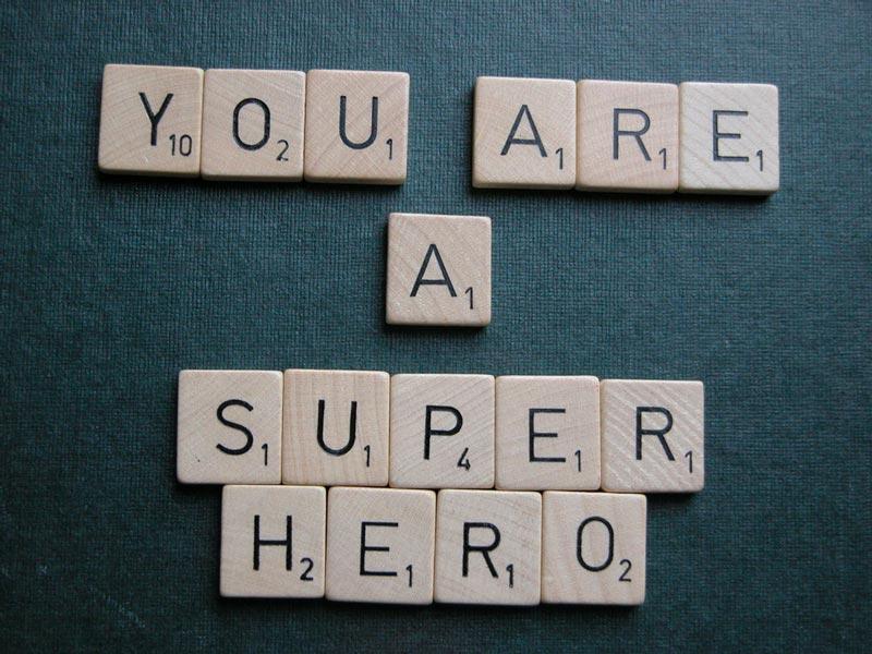 You are a super hero dharma karma yogi