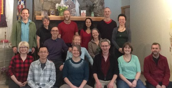 Spiritual awakening program participants 2016