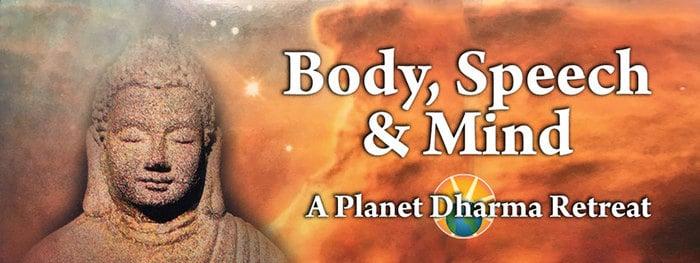 Meditation Retreat Body Speech Mind