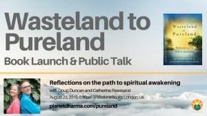 Watkins books launch wasteland to pureland
