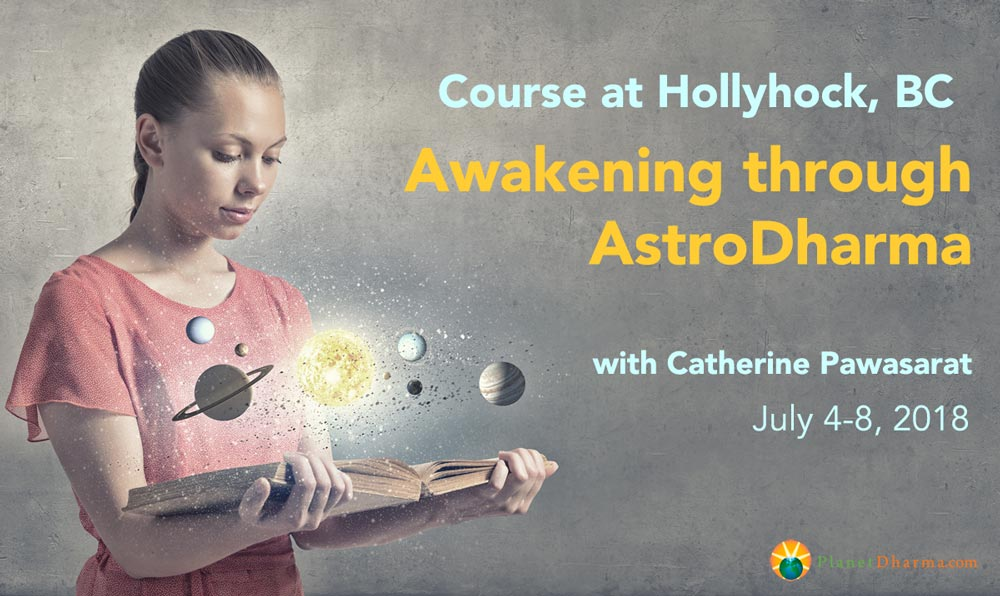 Astrology Course Hollyhock 2018