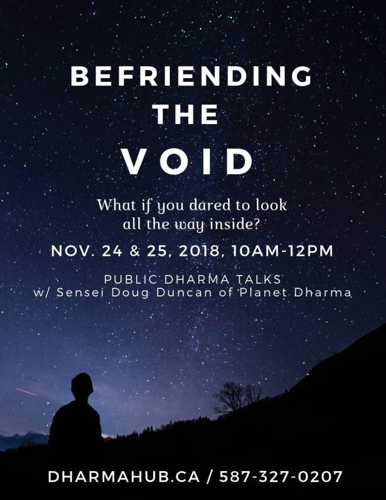 Befriending the Void Calgary
